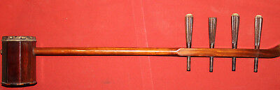 Hand Made Asian Folk Rosewood 4 Strings Erhu with snake skin