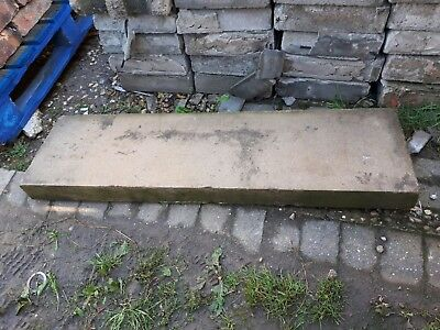 Solid stone hearth 4ft x 13inch x 3inch