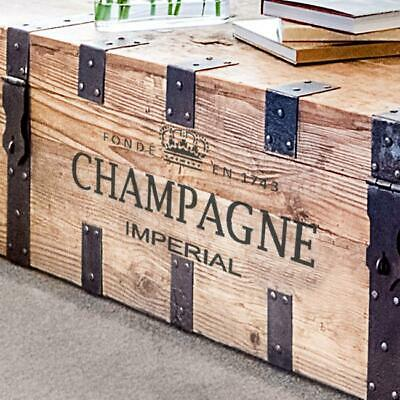 CHAMPAGNE French Label Stencil - Furniture Wall Floor Stencil for Painting