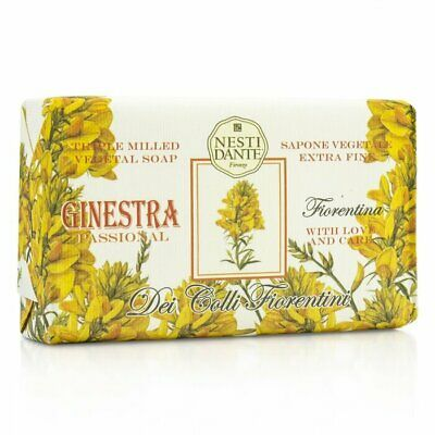 Nesti Dante Dei Colli Fiorentini Triple Milled Vegetal Soap - Broom 250g Bath