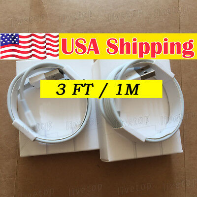 iPhone 8 7 6s charger cable cord OEM apple lightning USB cable charger 6s 7 Plus