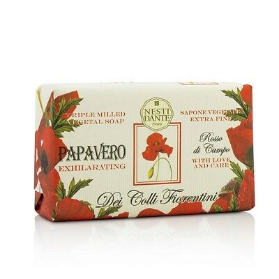 Nesti Dante Dei Colli Fiorentini Triple Milled Vegetal Soap - Poppy 250g Bath