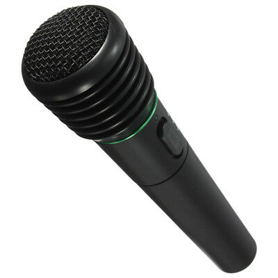 Undirectional Handheld Microphone Wired and Wireless Mic Receiver Karaoke F6B6