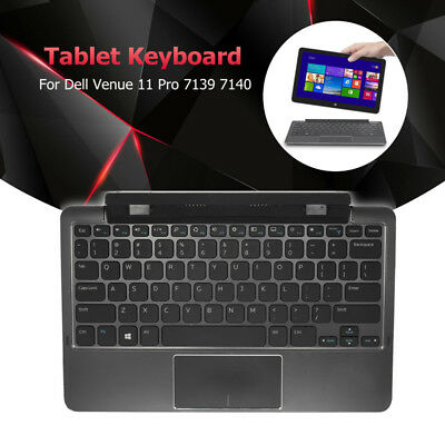 Tablet Keyboard Mobile Dock Replacement For Dell Venue 11 Pro 7139 7140 Black