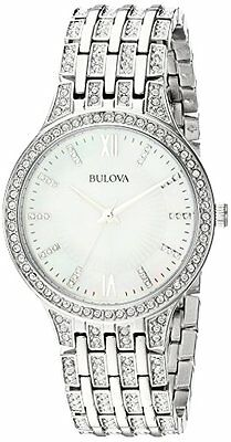 Bulova Corporation 96L242 Womens Quartz Stainless Steel Casual Watch