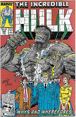 Incredible Hulk #346 August 1988 Peter David Todd McFarlane Marvel Comics