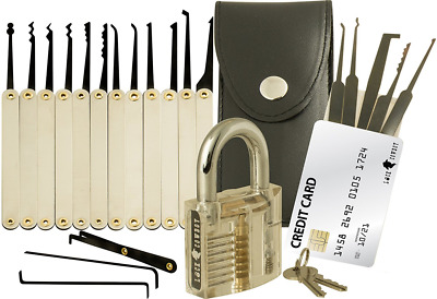majestic 16tlg lockpicking pick set mit leder etui eur 9 90 picclick de. Black Bedroom Furniture Sets. Home Design Ideas