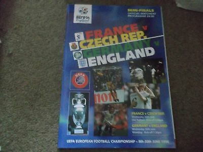 Euro 96 S/final France Czech Republic Germany England Manchester United Wembley