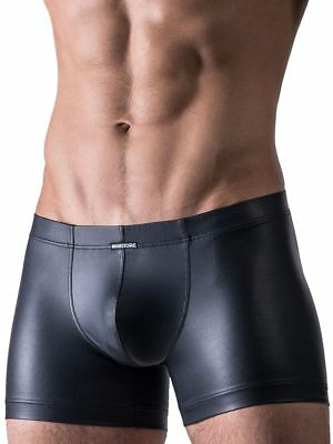 Manstore Hip Boxer M510 Underwear Black Tight-Fitting Shorts Pants Fetish Mens