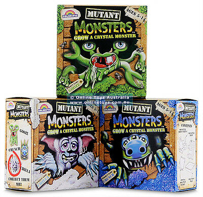 Grow a Crystal Monster - Various - IDEAL KIDS GIFT!!