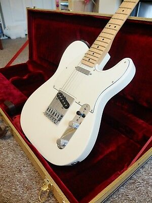 Fender Telecaster Arctic White 60th Anniversary Special Edition with Hard Case