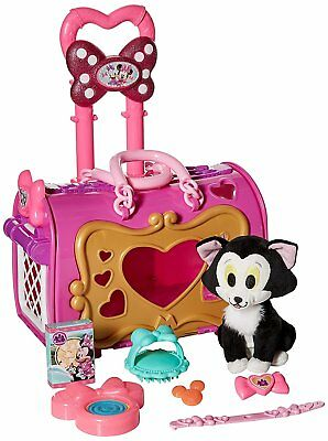 Official Disney Store Minnie Mouse Happy Helpers Pet Carrier Toy Playset