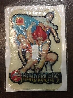 VINTAGE THUNDERCATS 1985 Adhesive Puffy Lightswitch Cover BK Burger King Sealed!