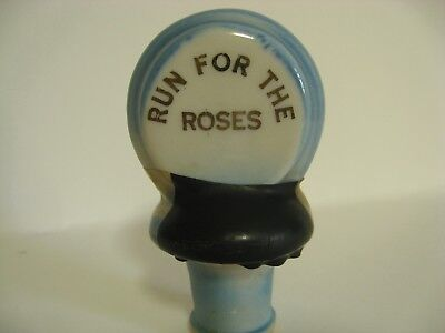 Vintage 1969 BOTTLE STOPPER  Kentucky Derby 95th Run for the Roses