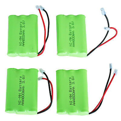 4x 3.6v 800mAh Home Phone Battery for Uniden BT-446 BP-446 BT-1005 BT1005 K0U4