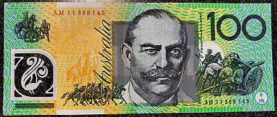 🌟EARLY PREFIX AB $100 DOLLAR NOTES SCARCE Collectable🌟 AUSTRALIAN AU 💵 A Note