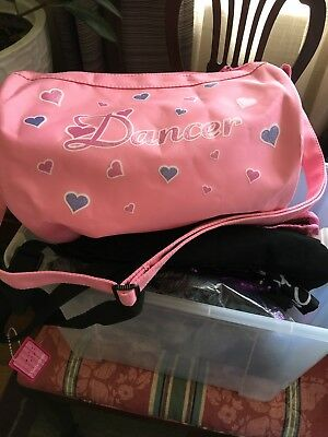 Lot Of 8 New Never Been Used assorted DANCE BAGS.