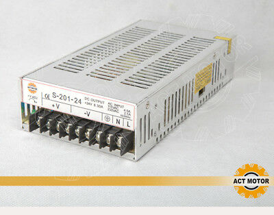 ACT MOTOR GmbH 1PC Single Output Switching Power Supply 200W 24V Stepper CNC