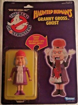 The Real Ghostbusters - Haunted Humans - Granny Gross Ghost - Action Figure 1986