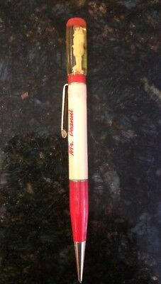 50S Advertising Mr. Peanut Floaty Top Ritepoint Mechanical Pencil !!