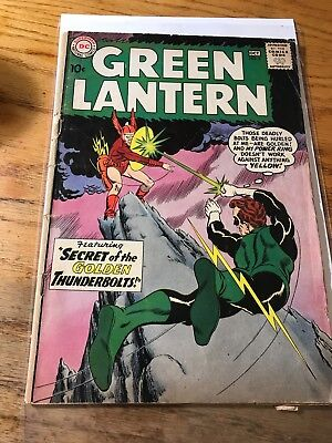 SILVER-AGE COMICS BLOWOUT: Green Lantern #2 Sept-Oct. 1960 LOOK FB