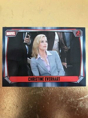 Hero Attax 2017 Marvel Missions-#61 Christine Everhart