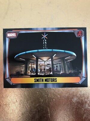 Hero Attax 2017 Marvel Missions-#220  Smith Motors
