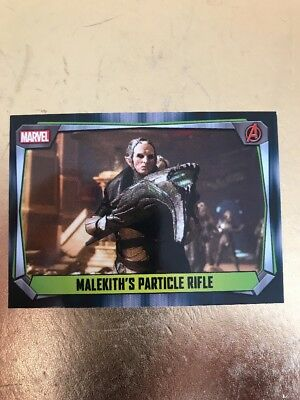 Hero Attax 2017 Marvel Missions- Malekiths Particle Rifle