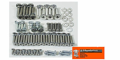 1955 1956 1957 Chevy Station Wagon Upper & Lower Tailgate Fastener Set New