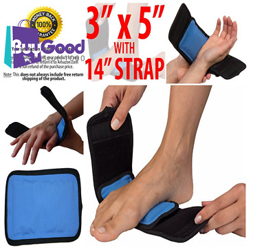 Strap Wrap Hand Foot Wrist Elbow Relief Pain Cold Hot Therapy Pain Ice Pack NEW