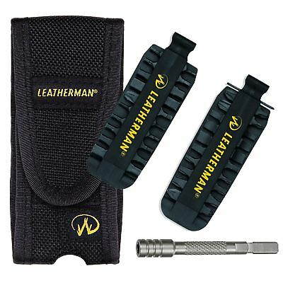 Leatherman Accessory Kit Charge Wave Tool Pouch Sheath, Bit Kit, Driver Extender