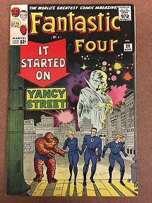 Fantastic Four #29 Marvel The Watcher in FINE-/FINE condition