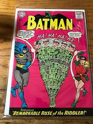 SILVER-AGE COMICS BLOWOUT: Batman #171 First Appearance RIDDLER May 1965 LOOK FB