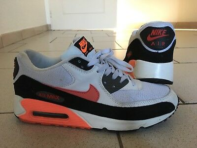 Baskets Chaussures Nike Air Max 90 Blanc T. 43
