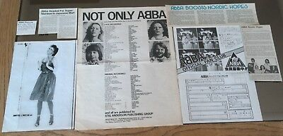 Abba Industry Vintage Magazine Clippings