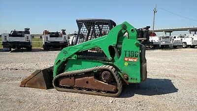 2011 Bobcat T190 Skid Steer Track Steer Hand & Foot Controls