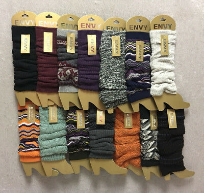 Ladies Envy Leg Warmers Many Colors To Choose