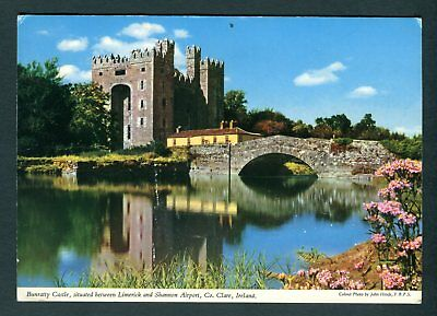 Bunratty Castle, between Limerick & Shannon Airport, Co Clare, Ireland. Unused