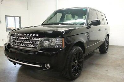 2010 Land Rover Range Rover  Autobiography SC BLK w Ivory Loaded