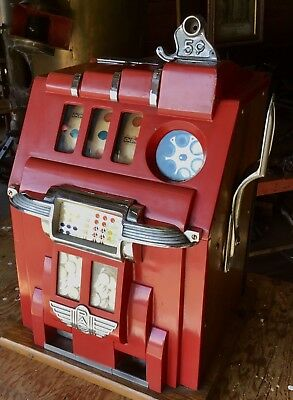 ca 1939 ORIGINAL STORE ATTIC FIND PACE COMET SLOT MACHINE