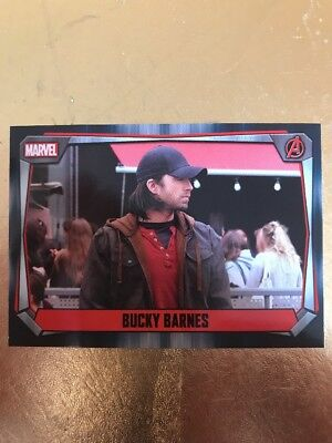 Hero Attax 2017 Marvel Missions- #28 Bucky Barnes