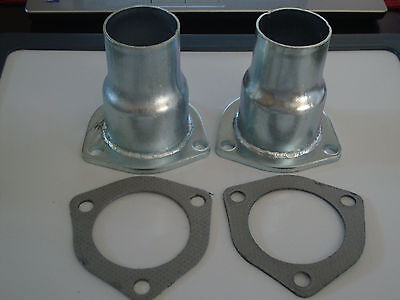 JONES EXHAUST AHB3 Header Buddy Reducer/Collector/Flange Kit