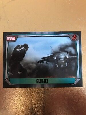 Hero Attax 2017 Marvel Missions-#129 Quinjet
