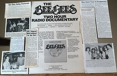 The Bee Gees Industry Rare Magazine Clippings