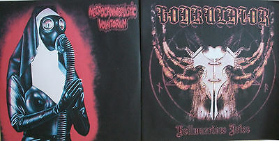 "GONKULATOR / EMBALMING THEATRE spl 7"" morbid,nunslaughter,macabre,meat shits,gut"
