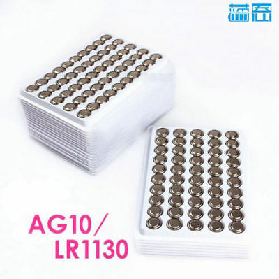 New 20Pcs LR1130 AG10 389 LR54 1.5V alkaline button battery