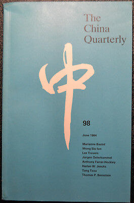 The China Quarterly Nr. 98 Educational Policies Population Policy Korean War
