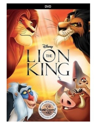 The Lion King (DVD) Used Very Good.