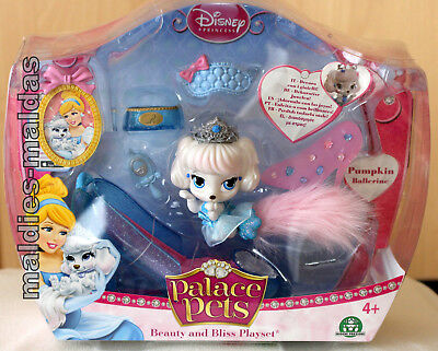 Palace Pets Beauty und Bliss Pumpkin Ballerin Spielset NEU/OVP Disney Princess
