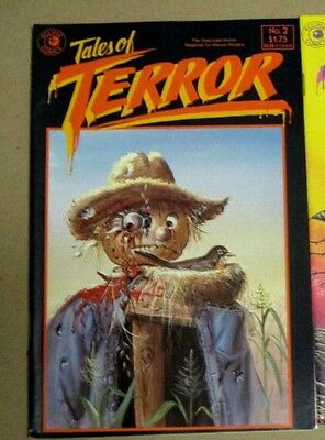 TALES OF TERROR # 2 HORROR NM Eclipse